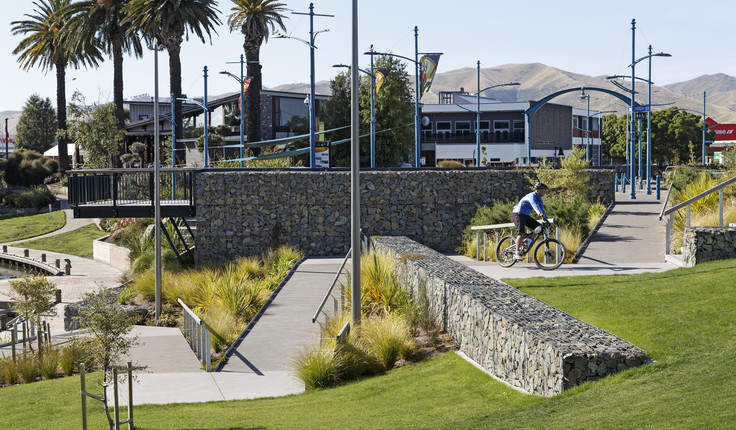 Quays Riverside Park, Blenheim. The park might have eaten up some carparks but feedback has been overwhelmingly positive.