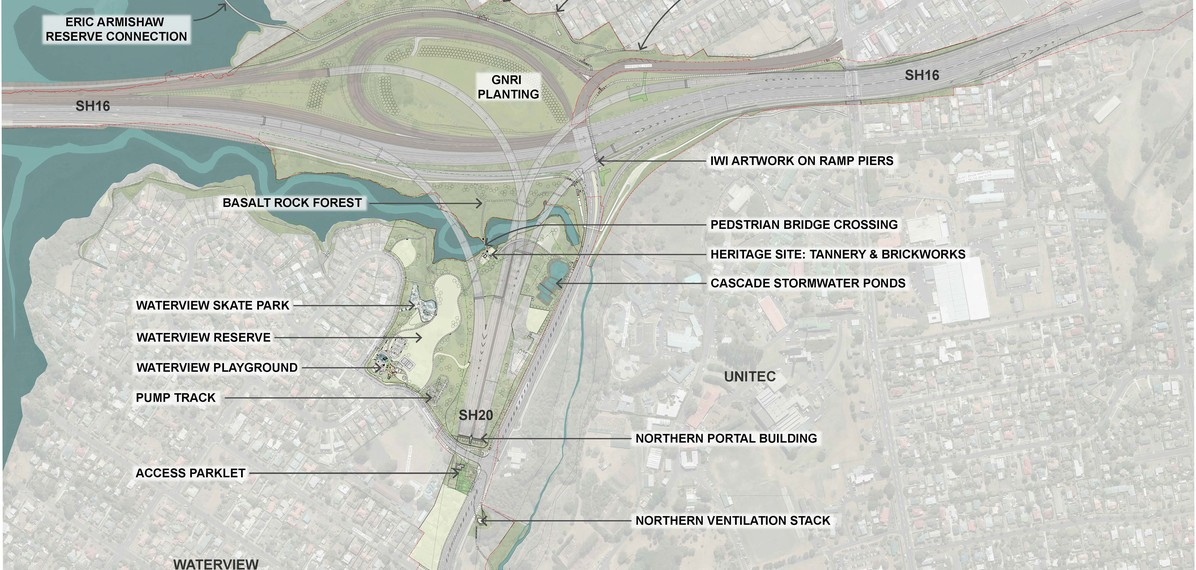 Waterview North Annotated Concept