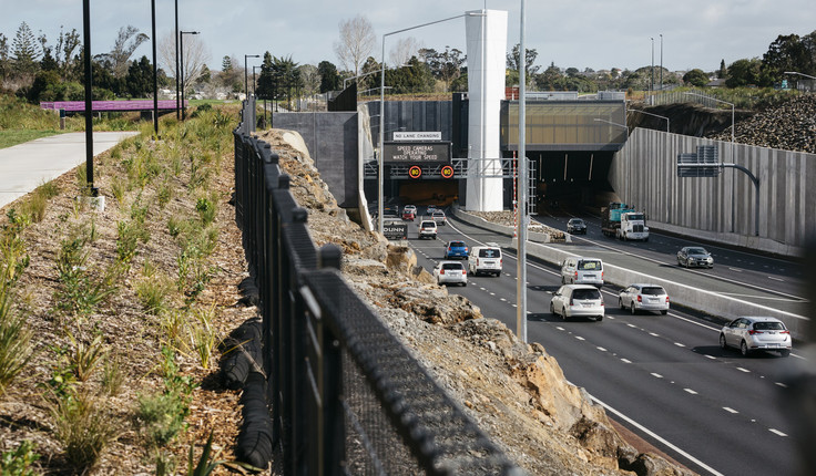 The Waterview Tunnel benefitted from input from the Auckland Urban Design Panel.