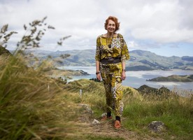 Di Lucas was 'gobsmacked' when she got the letter informing her she would be awarded the Officer of the New Zealand Order of Merit in the new year honour's list. Image credit - Stuff/The Press.
