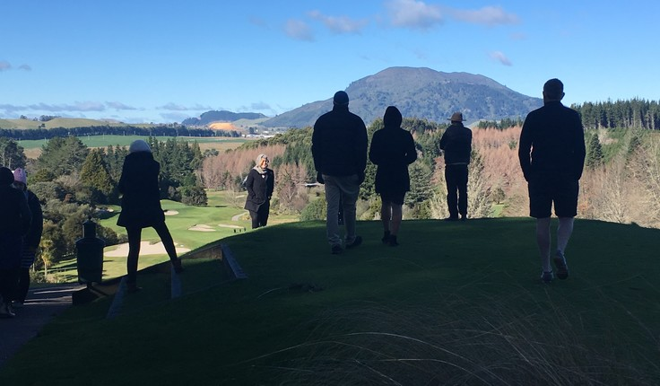 Landscape Architects enjoying the view