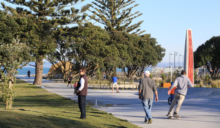 Marine Parade is a thriving playground for locals and visitors alike.