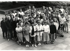 1989 School photo, courtesy of David Hollander