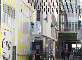 The laneways are a modern interpretation of an area's heritage.