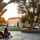 A flexible public space for incidental play and social interaction. Image Credit: Nathan Young, Wraight + Associates