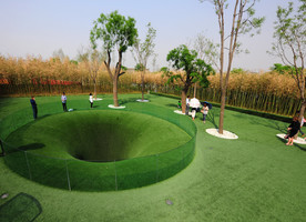 The Big Dig in Xi'an, China. This is a project by TOPOTEK1, the company founded by Martin Rein-Cano.