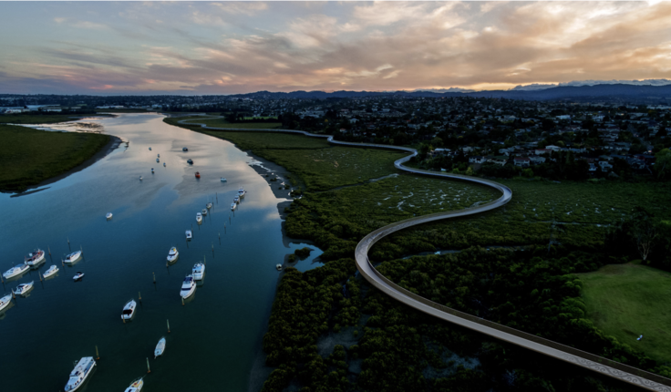 Te Whau connects Auckland's east and west coasts