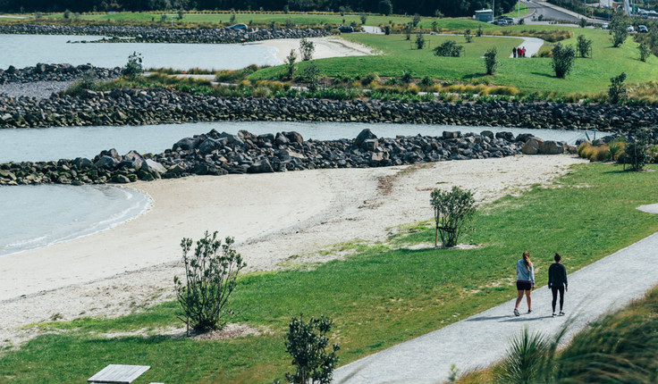 Taumanu Reserve, Onehunga won an NZILA Award of Excellence in 2017. It is an Isthmus project.