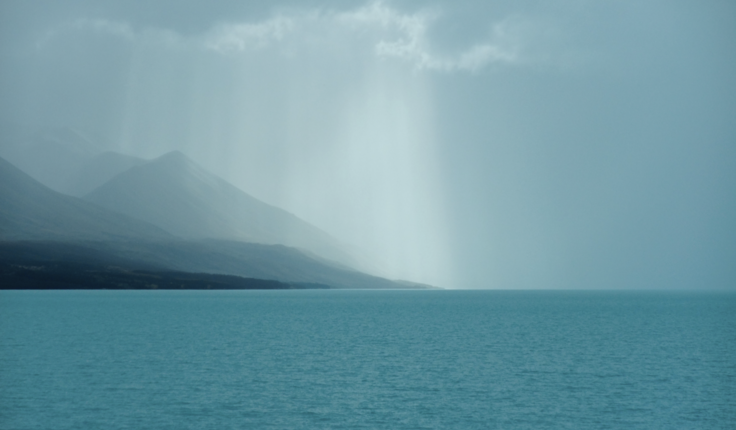 Light on Lake Hawea by Jacky Bowring
