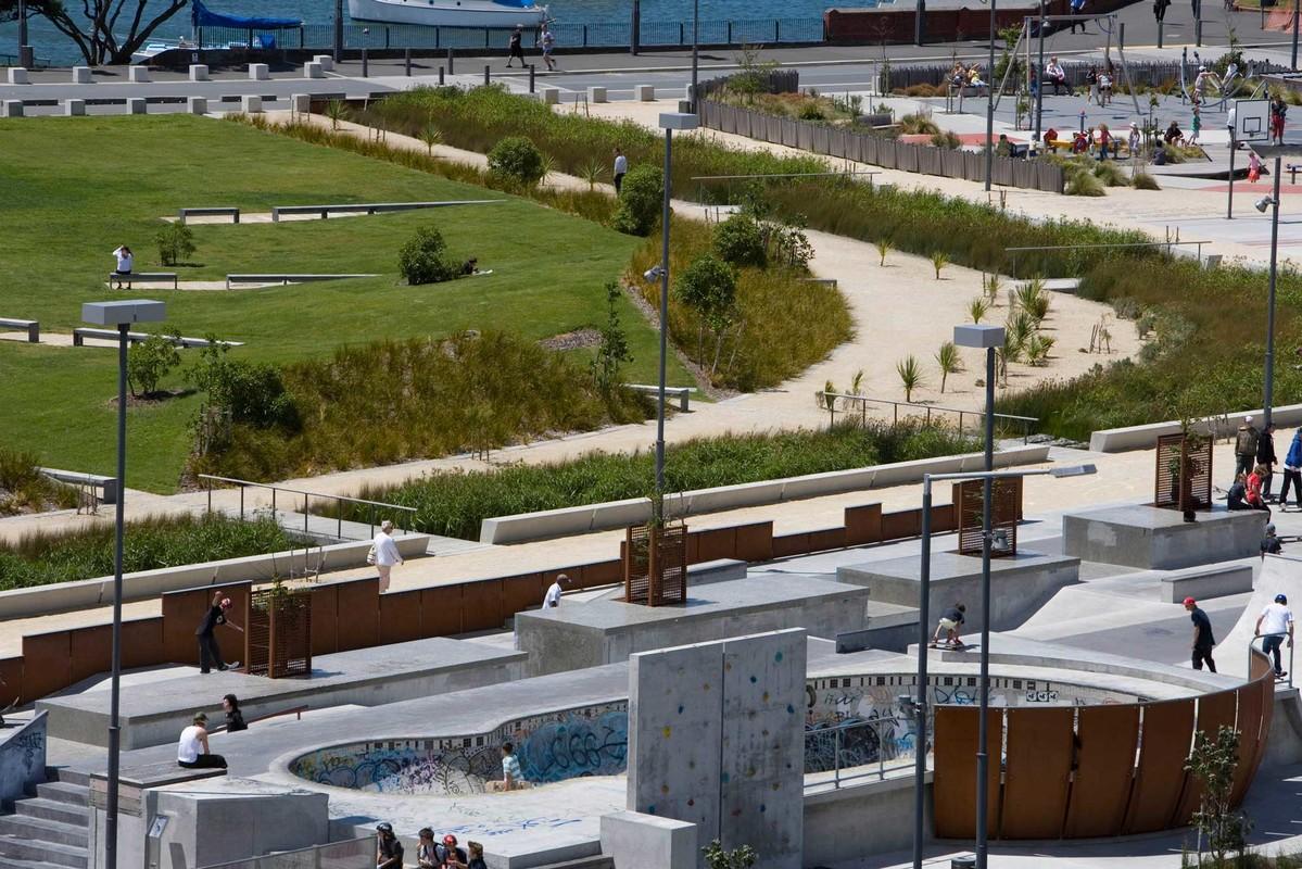 Waitangi park nz institute of landscape architects for Landscape design jobs new zealand